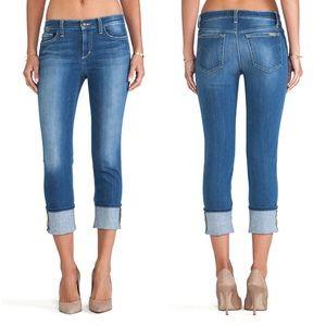 Joe's Jeans Cuff Crop In Odette size 25